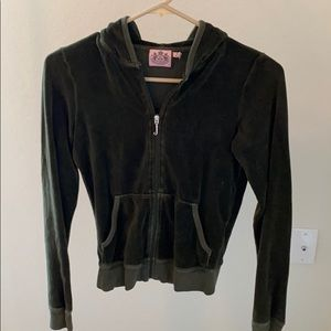 Dark Green Juicy Couture ZIP